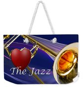 The Trombone Jazz 001 Weekender Tote Bag
