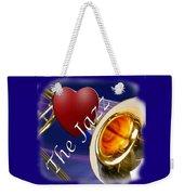 The Trombone Jazz 002 Weekender Tote Bag