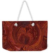 The Tunnel Red Weekender Tote Bag