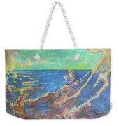 The Turbulent Sea Weekender Tote Bag