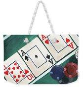 The Turn Weekender Tote Bag by Debbie DeWitt