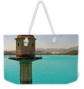 The Turquoise Lake Weekender Tote Bag