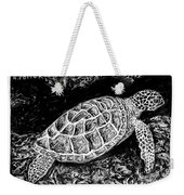 The Turtle Searches Weekender Tote Bag