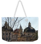 The Twin Churches Weekender Tote Bag