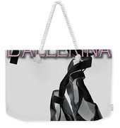 The Twirling Ballerina Cover Art Weekender Tote Bag