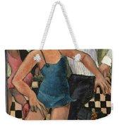 The Twist Weekender Tote Bag