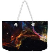 The Twisted Shockwaves Of An Exploded Star Weekender Tote Bag