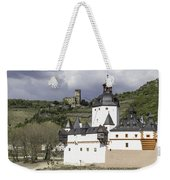 The Two Castles Of Kaub Germany Weekender Tote Bag