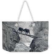 The Two Goats Weekender Tote Bag