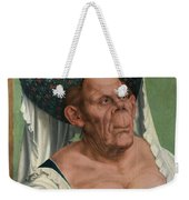 The Ugly Duchess, By Quentin Matsys Weekender Tote Bag