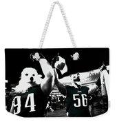 The Under Dogs Philadelphia Eagles Weekender Tote Bag