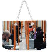 The Underground Weekender Tote Bag