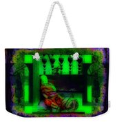 the understanding of dark matter from young to old... will that make you a divine Buddhist? Weekender Tote Bag