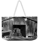 The Undertaker's Wagon Black And White 2 Weekender Tote Bag
