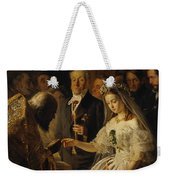 The Unequal Marriage Weekender Tote Bag