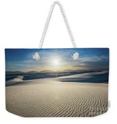 The Unique And Beautiful White Sands National Monument In New Me Weekender Tote Bag