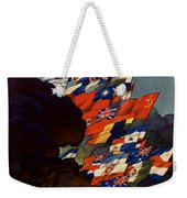 The United Nations Fight For Freedom Weekender Tote Bag