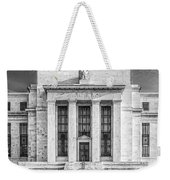The United States Federal Reserve Bw Weekender Tote Bag