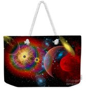 The Universe In A Perpetual State Weekender Tote Bag by Mark Stevenson
