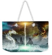 The Universe Of Dragons Weekender Tote Bag