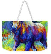 The Urge To Merge - Bull Moose Weekender Tote Bag