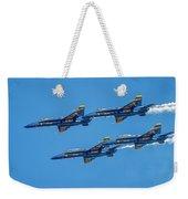 The Usn Blue Angels Weekender Tote Bag