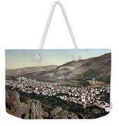 The Vale Of Nablus Weekender Tote Bag