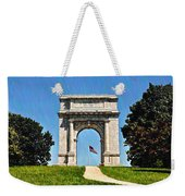 The Valley Forge Arch Weekender Tote Bag