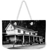 The Valley Green Inn In Black And White Weekender Tote Bag