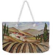 The Valley Of Jesrael Weekender Tote Bag
