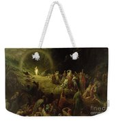 The Valley Of Tears Weekender Tote Bag by Gustave Dore