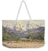 The Valley Of The Nervia, 1884  Weekender Tote Bag