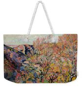 The Valley Of The Sedelle In Crozant Weekender Tote Bag by Jean Baptiste Armand Guillaumin