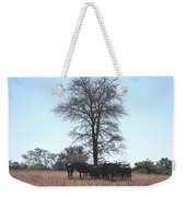 The Value Of A Shade Weekender Tote Bag