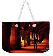 The Vampire Stalks Weekender Tote Bag