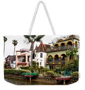 The Venice Canal Historic District Weekender Tote Bag