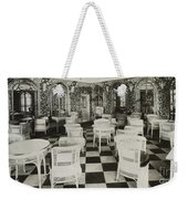 The Verandah Cafe Of The Titanic Weekender Tote Bag by Photo Researchers