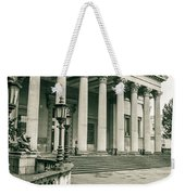 The Victoria Rooms With Lamp Post, Bristol Weekender Tote Bag