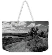 The View From Bald Mountain Weekender Tote Bag