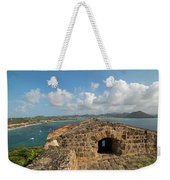 The View From Fort Rodney On Pigeon Island Gros Islet Caribbean Weekender Tote Bag