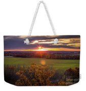 The View From Up Here Weekender Tote Bag by Viviana Nadowski