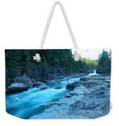 The View Of A River Weekender Tote Bag