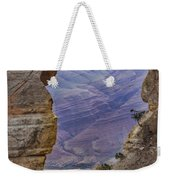 The  View Through The Angels'  Window Weekender Tote Bag