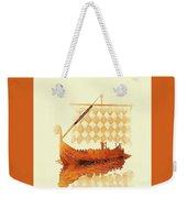 The Viking Ship Weekender Tote Bag
