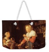 The Village Grocer 1647 Weekender Tote Bag