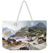 The Village Of Angangueo Weekender Tote Bag