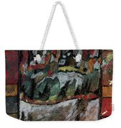 The Village On A Hill Weekender Tote Bag