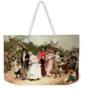 The Village Wedding Weekender Tote Bag