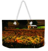 The Vines During Autumn Weekender Tote Bag