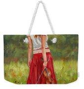 The Violinist Weekender Tote Bag